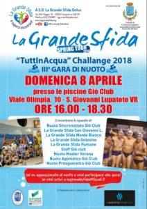 Grande sfida in piscina a san giovanni lupatoto in cassetta - Piscina san giovanni lupatoto ...