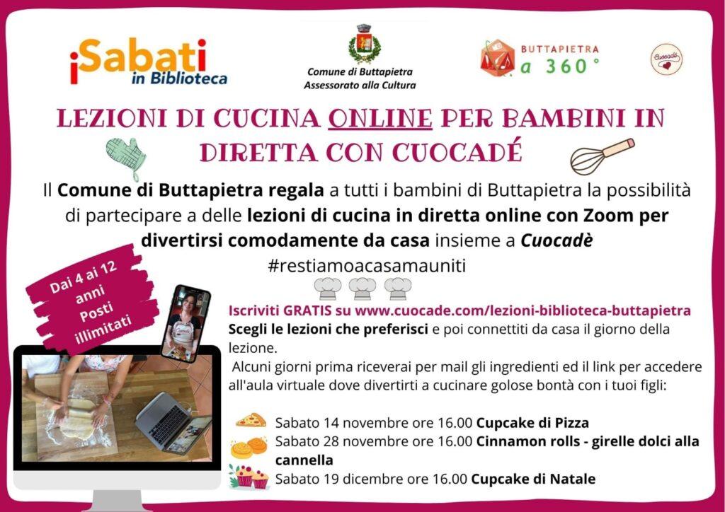 Corsi Di Cucina Gratuiti Per Bambini A Buttapietra In Cassetta